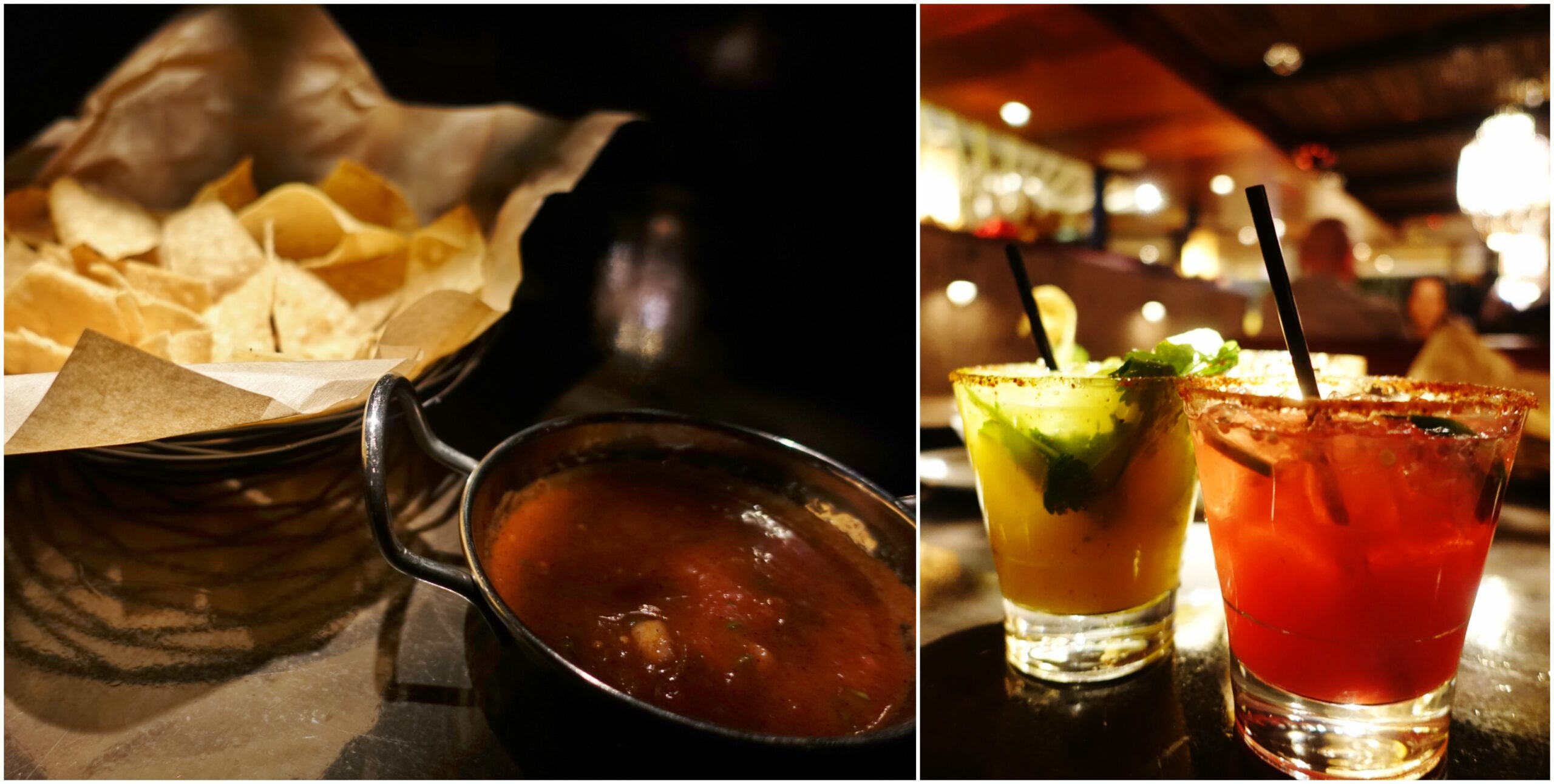 Chips & Salsa, Margaritas - Tortilla Republic, Laguna Beach, CA