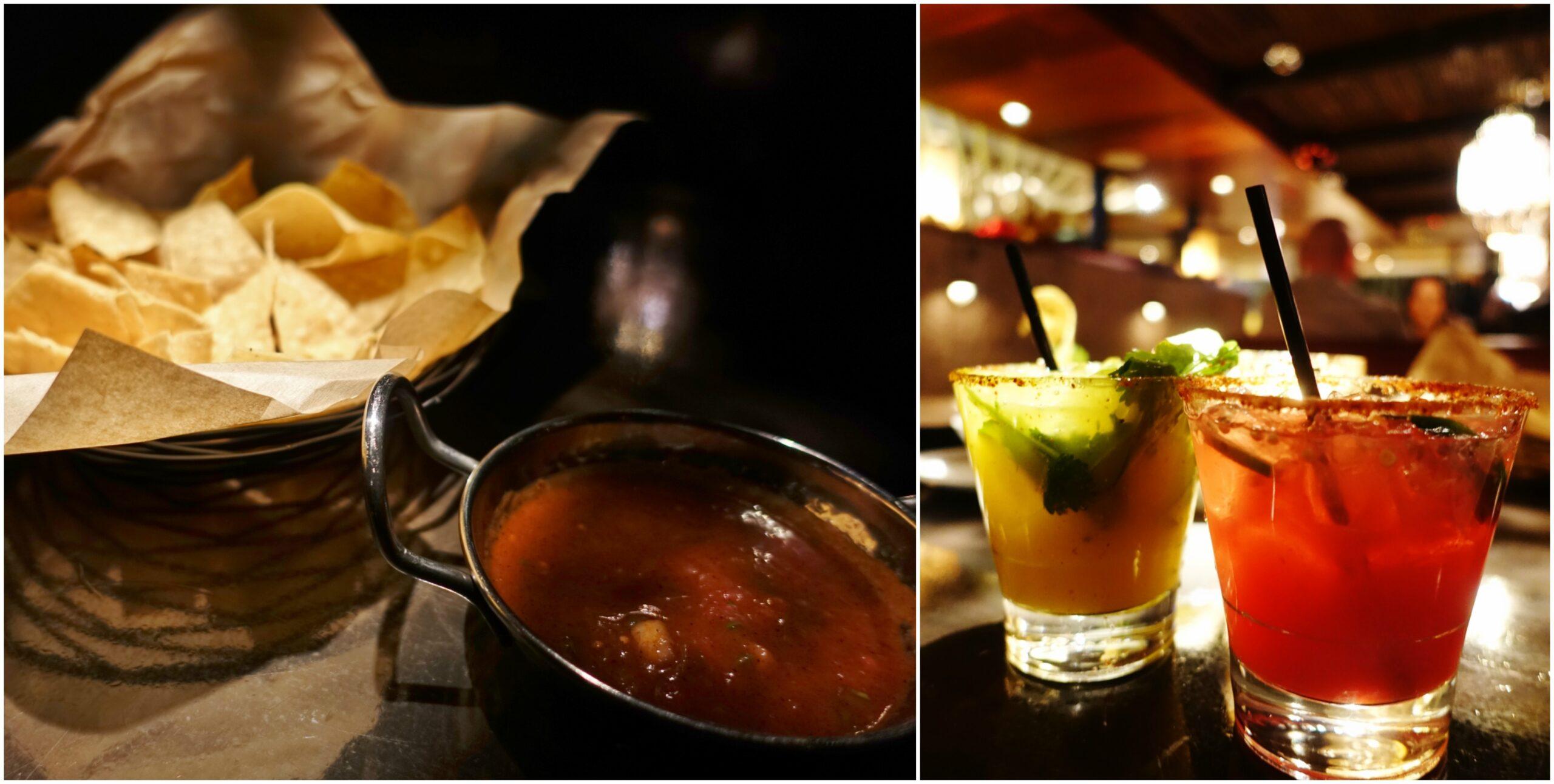 Chips & Salsa, Margaritas - Tortilla Republic, Laguna Beach, CA