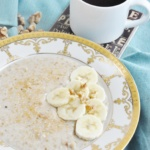 Pressure Cooker Classic Steel Cut Oats (5 ingredients or less, high protein, high fiber, healthy)
