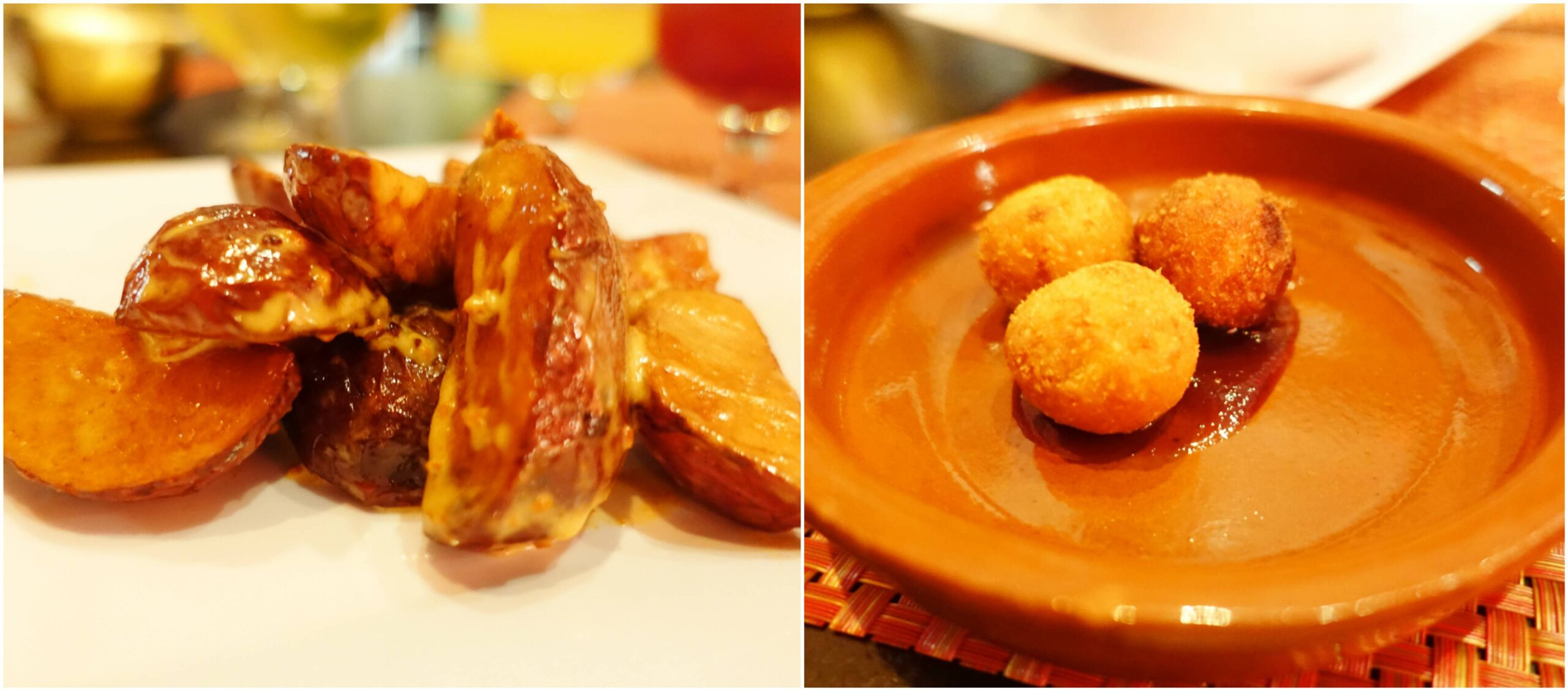 Patatas Bravas, Ham Croquettes - Toro Salao, San Juan Puerto Rico
