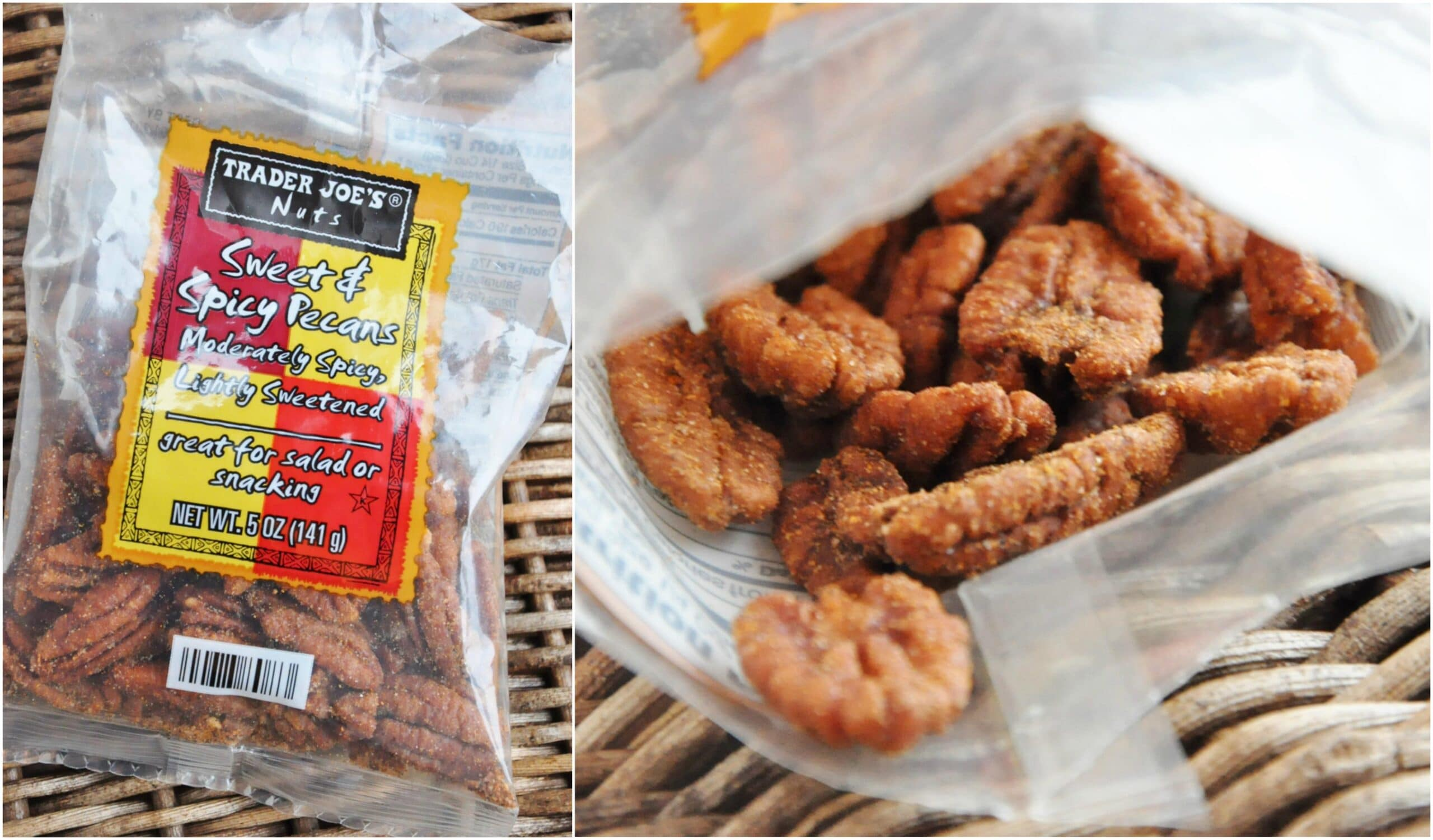 Trader Joe's Sweet & Spicy Pecans