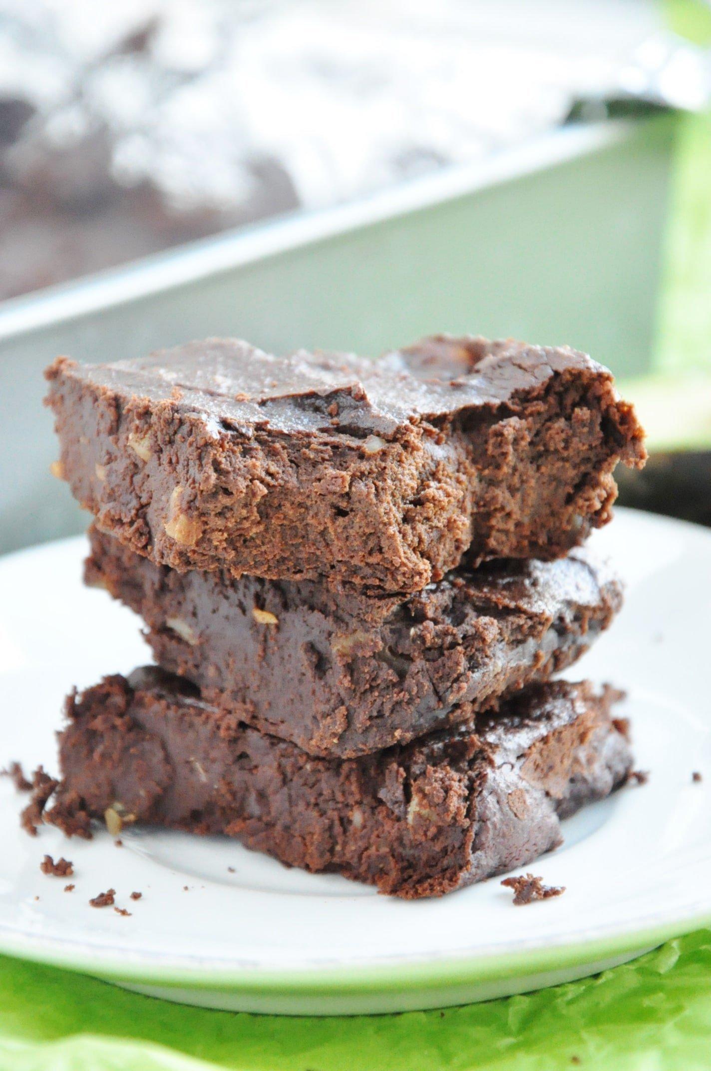 Avocado Walnut Brownies (13)