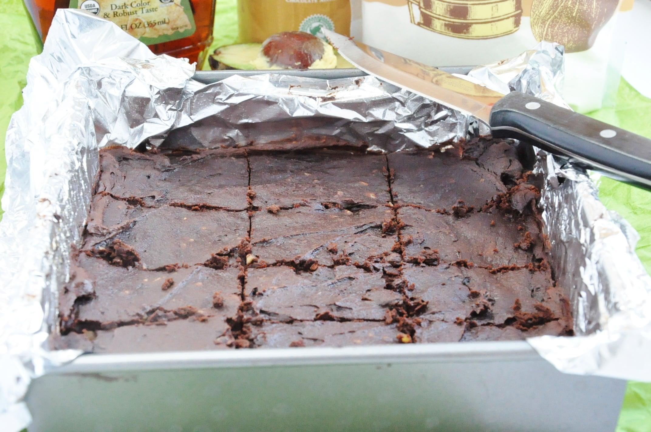 Avocado Walnut Brownies (2)