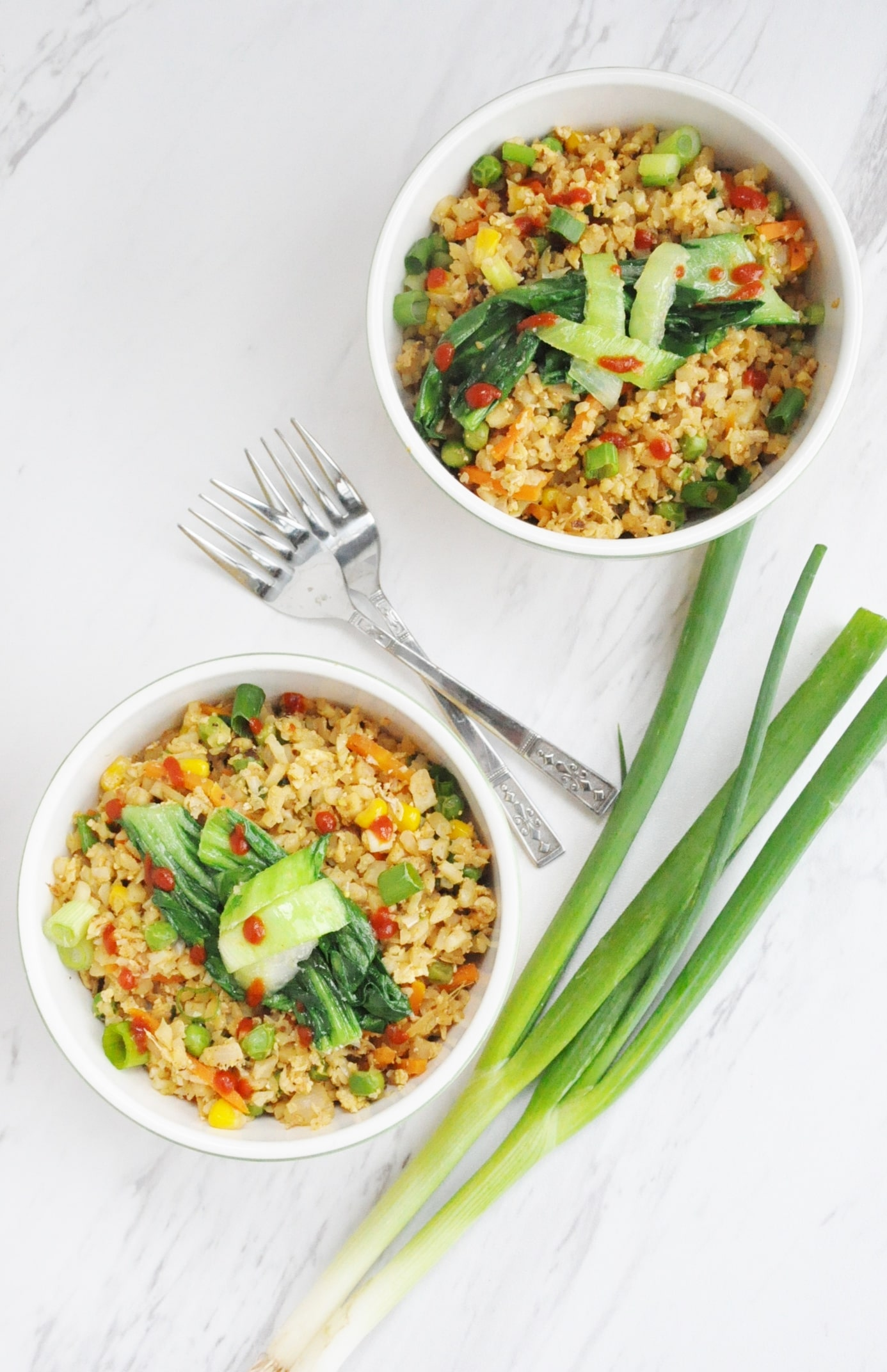 Cauliflower Fried Rice - gluten free, dairy free, low carb