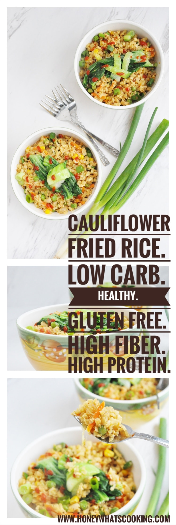 Cauliflower Fried Rice pin