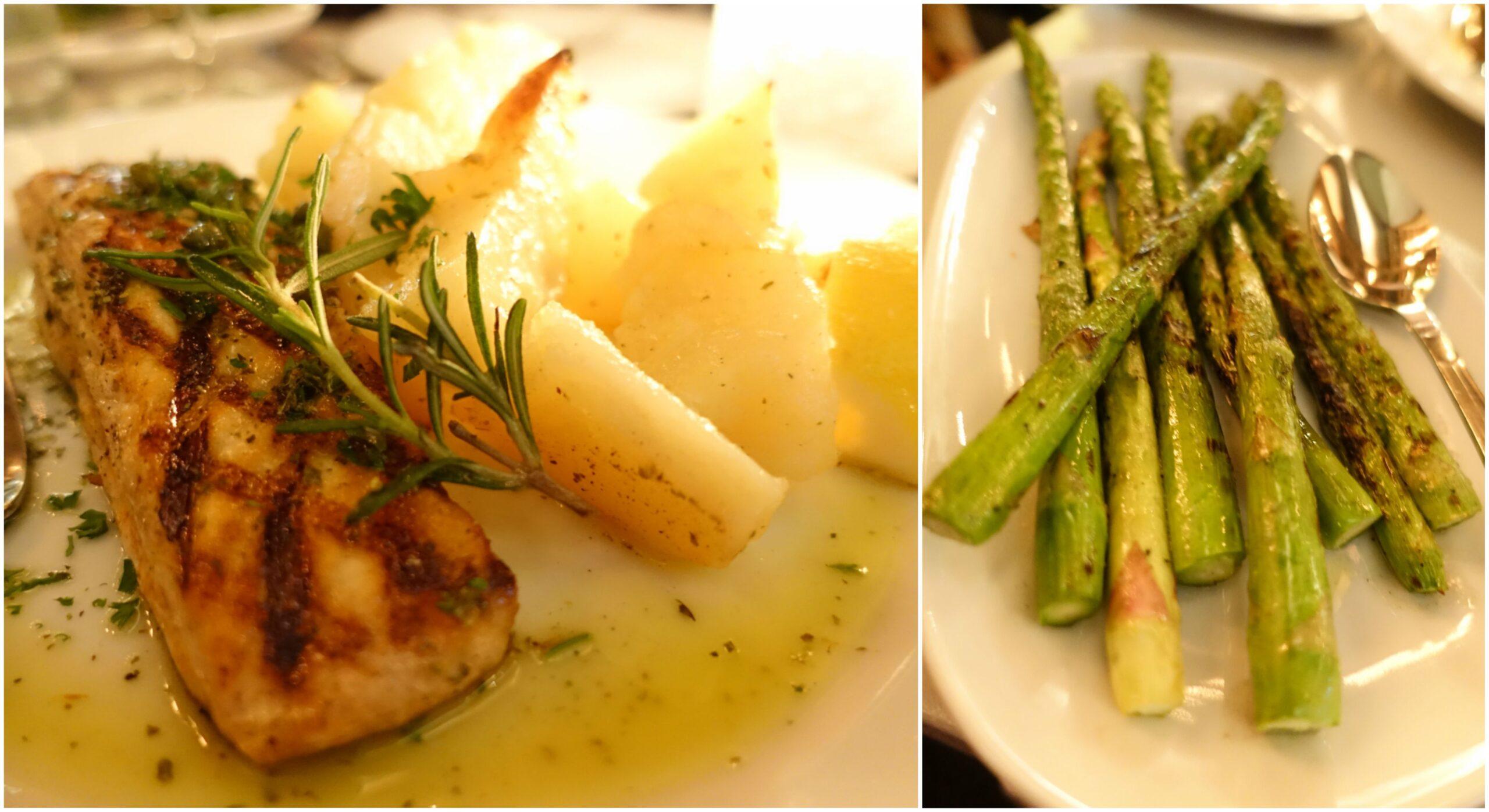 Salmon, Asparagus - Nisi Estiatorio, New York City
