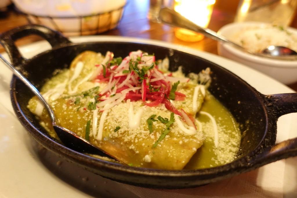 Chicken Enchiladas - El Toro Blanco