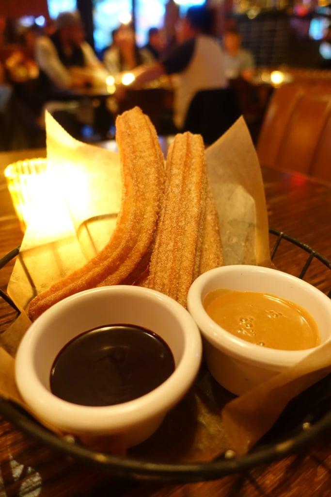 Cinnamon & Sugar Churros - El Toro Blanco