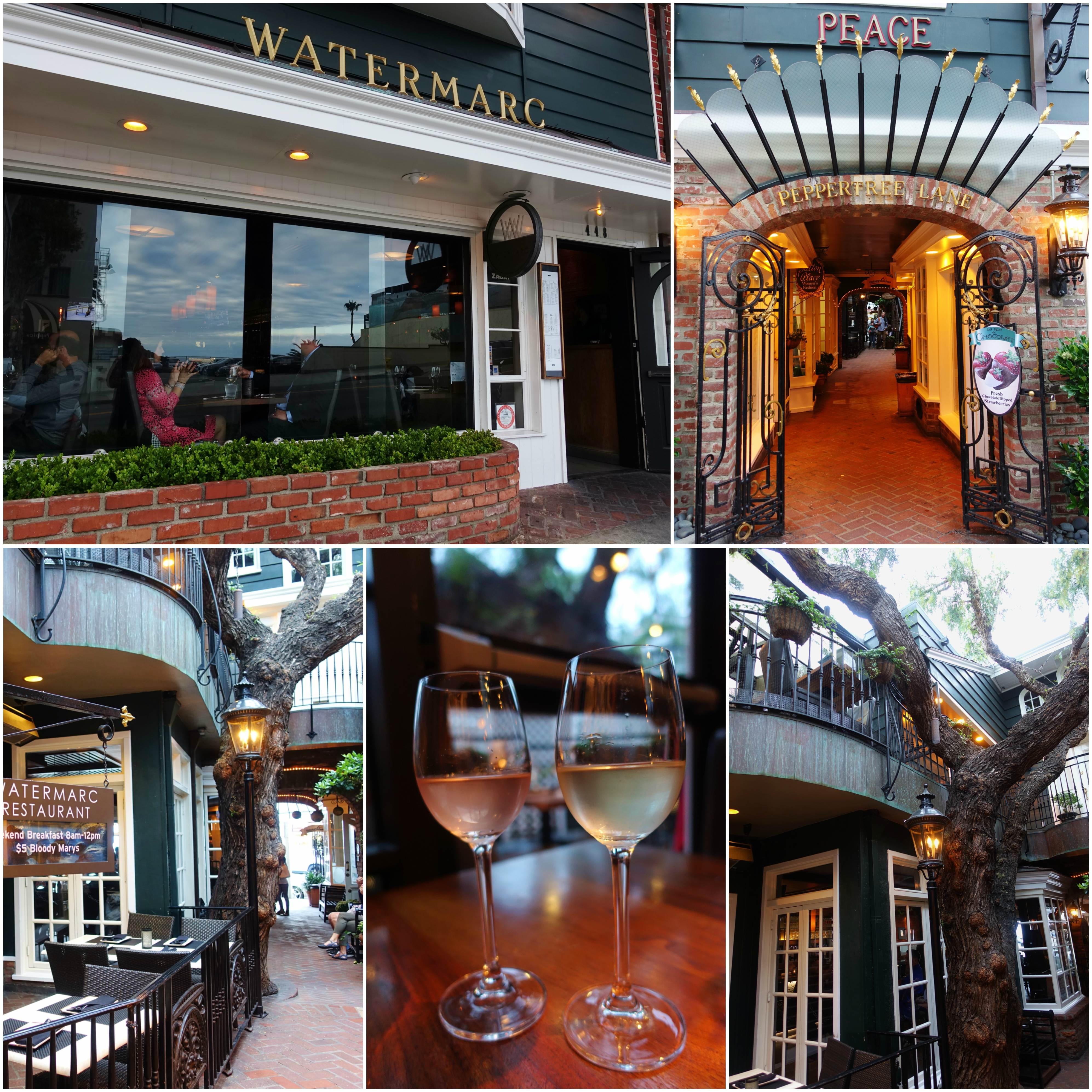 Watermarc Restaurant, Laguna Beach, California