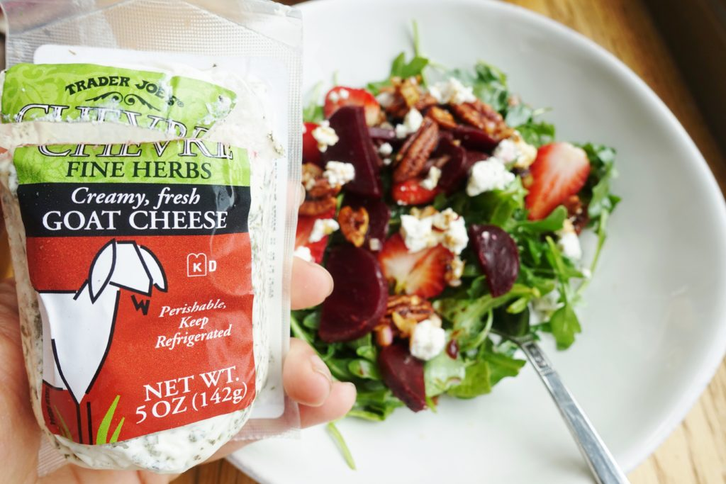 Trader Joe's Chevre Fine Herbs Goat Cheese