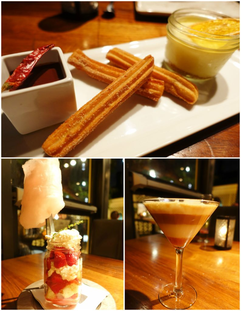 Desserts, Dessert Martini - Watermarc Laguna Beach, California