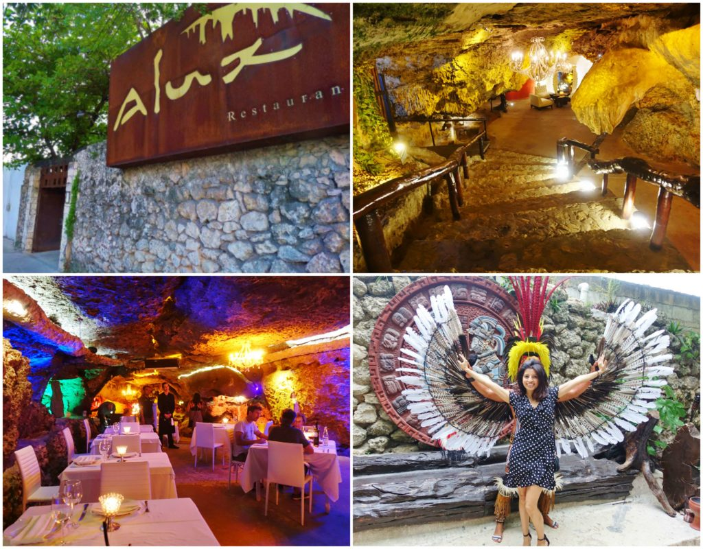 Alux Restaurant, Playa del Carmen, Mexico