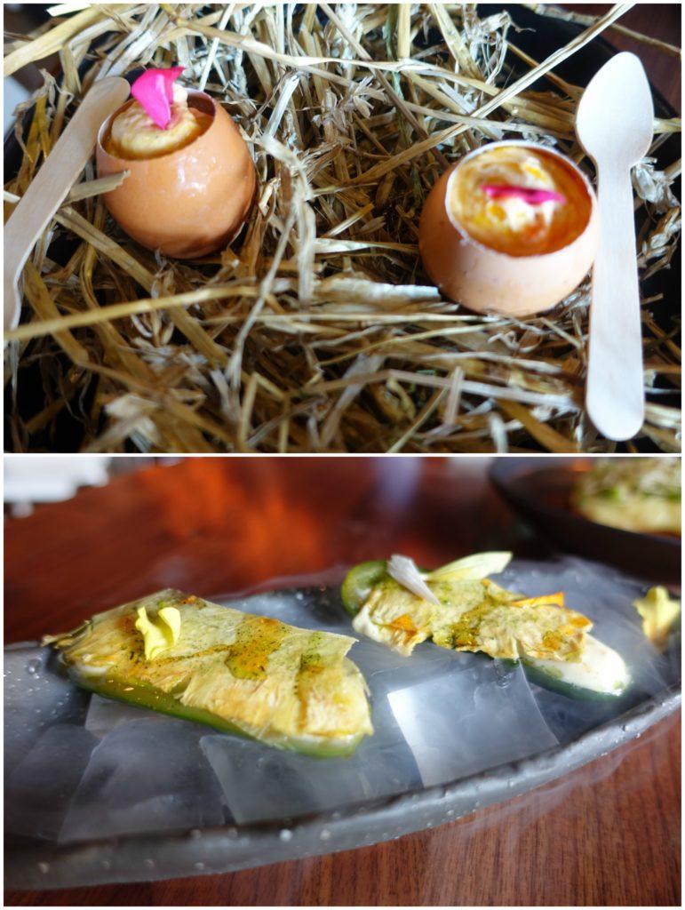 Madrasi Egg Roast, Kheera on the Rocks - Rahi, NYC