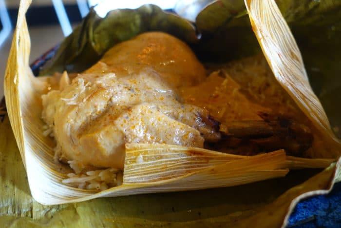 Banana Leaf Chicken - Rahi NYC