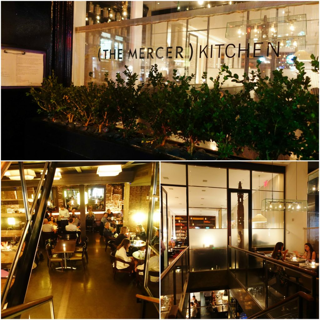 The Mercer Kitchen, Soho, NYC