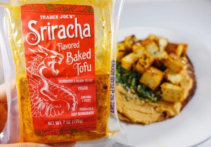 Trader Joe's Siracha Baked Tofu