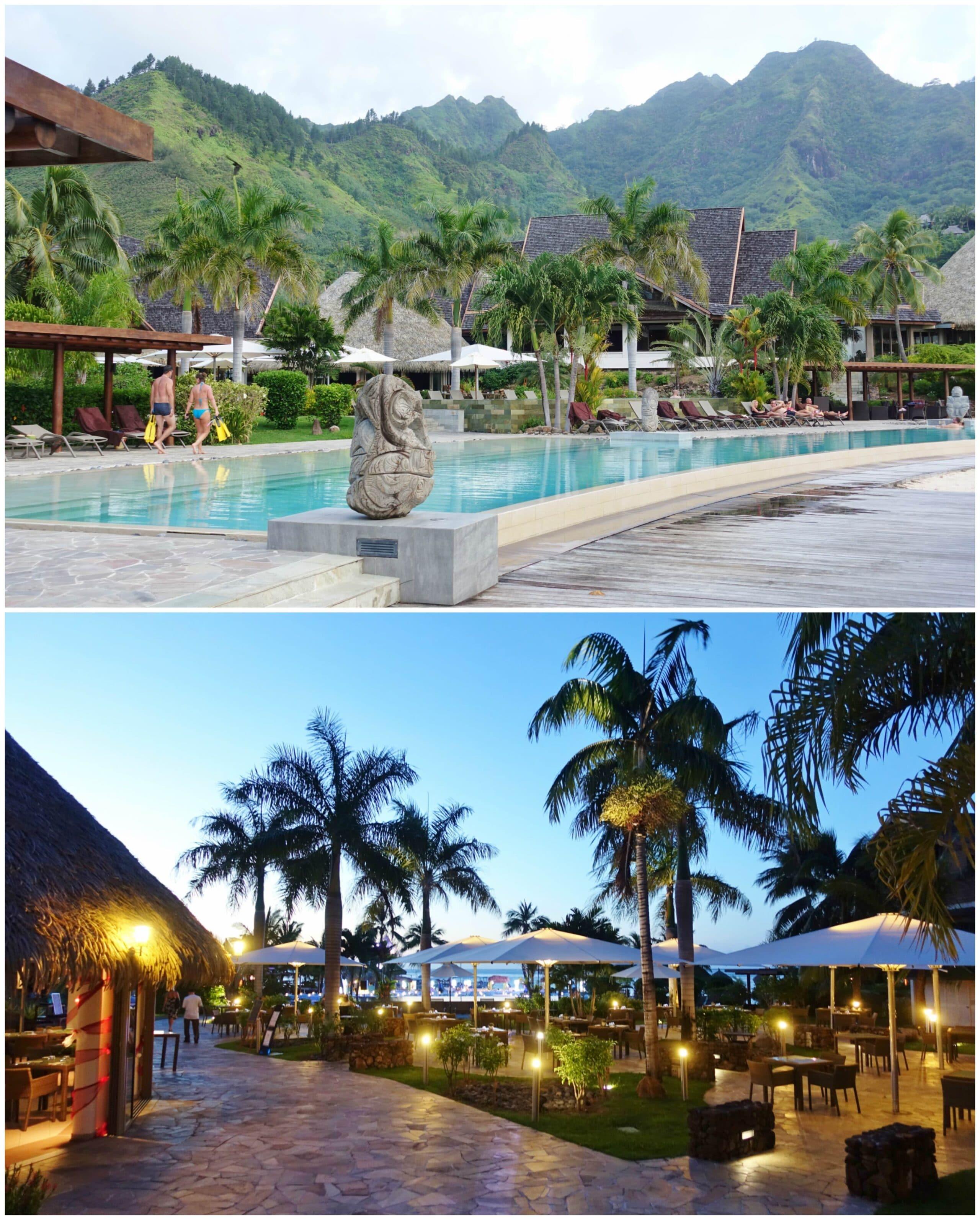 Hotel Grounds - Intercontinental Moorea Resort & Spa