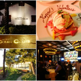 Our First Valentine's: Mastro's Ocean Club | Newport Beach, CA