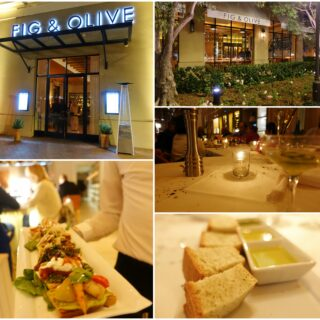 My Husband's Birthday: Fig & Olive | Newport Beach, CA