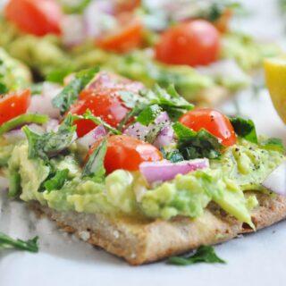 Quinoa Bread Avocado Toast (gluten-free, dairy-free, vegan, healthy)