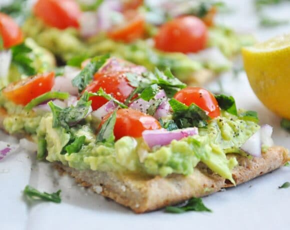Quinoa Flatbread Avocado Toast (38)