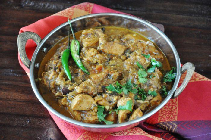 Punjabi Chicken Curry - healthy, gluten-free