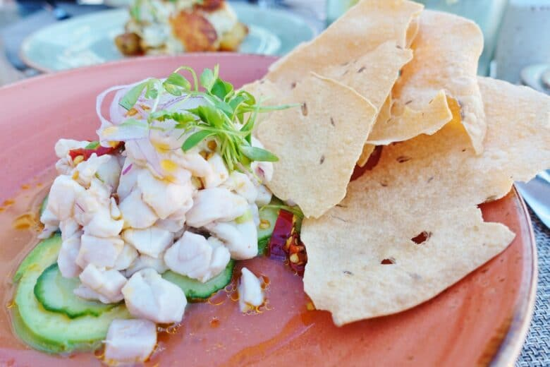 Snapper Ceviche - Aveo Table & Bar - Monarch Beach Resort, Dana Point, CA