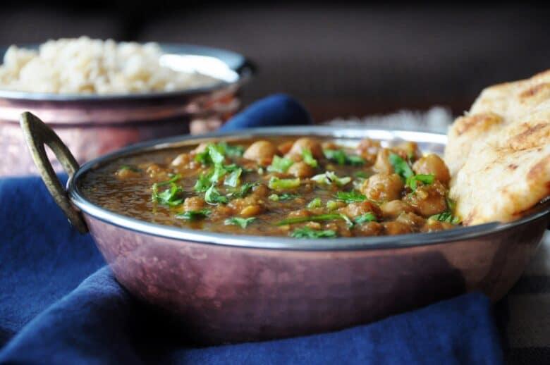 Punjabi Chole (vegan, healthy, gluten-free) | Honey, Whats