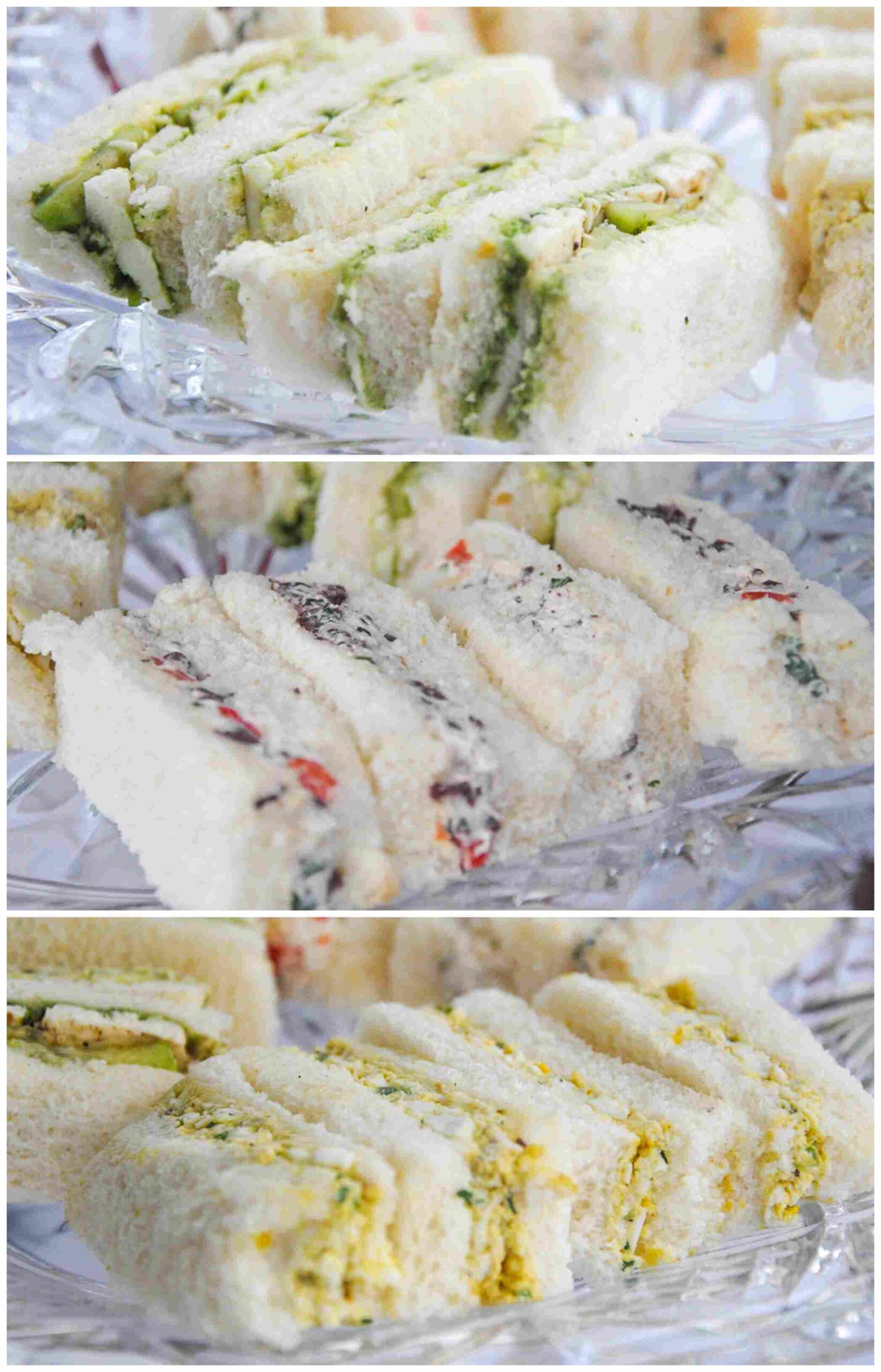 Indian Afternoon Tea Finger Sandwiches
