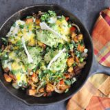Eggs Fajita Breakfast Skillet (gluten free, paleo-ish, healthy-ish)