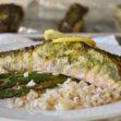 Hariyali Salmon (paleo-ish, healthy, gluten-free, dairy-free, high protein, low-carb option)
